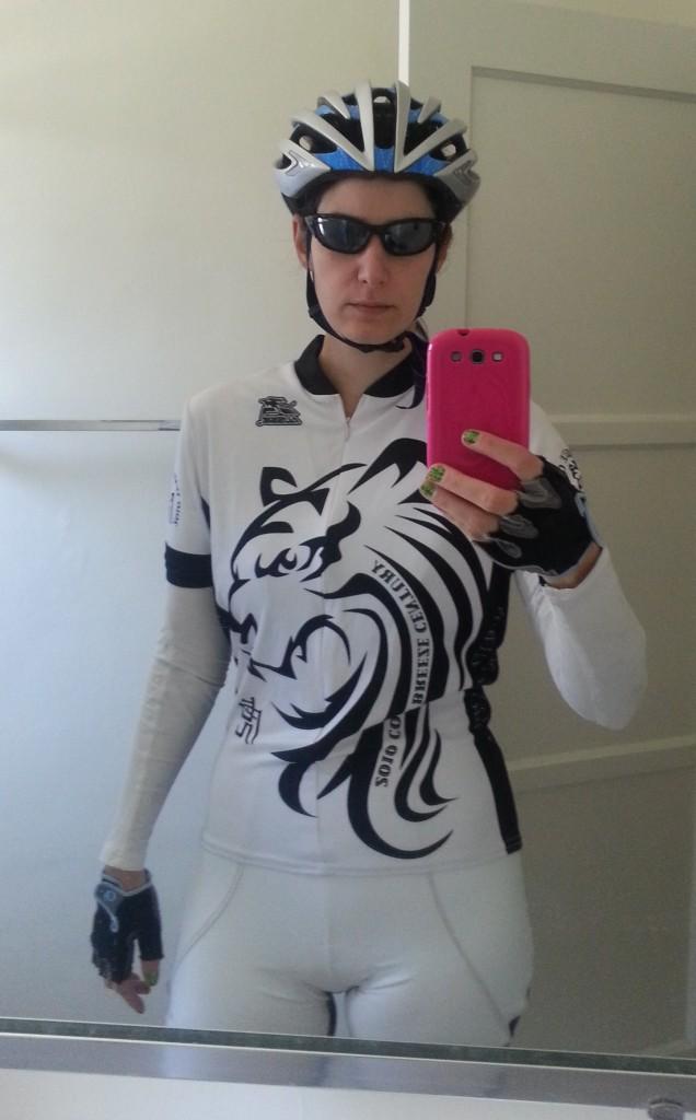 White Bike Kit