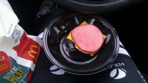 Egg McMuffin sans muffin. #breakfastofchampions