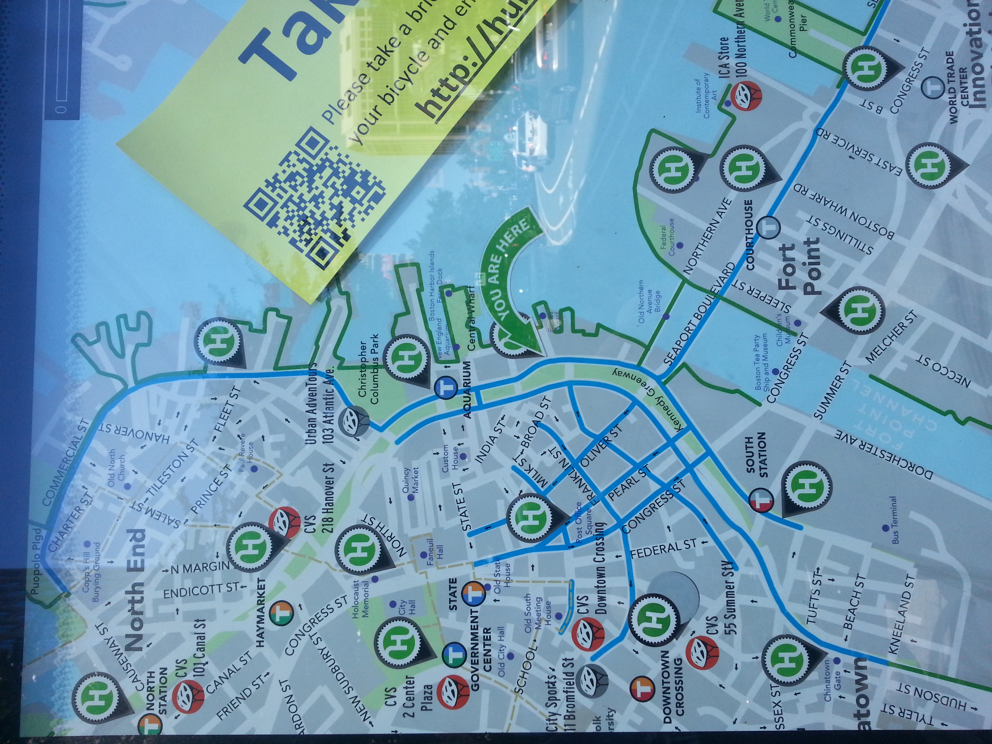 Hubway Locations